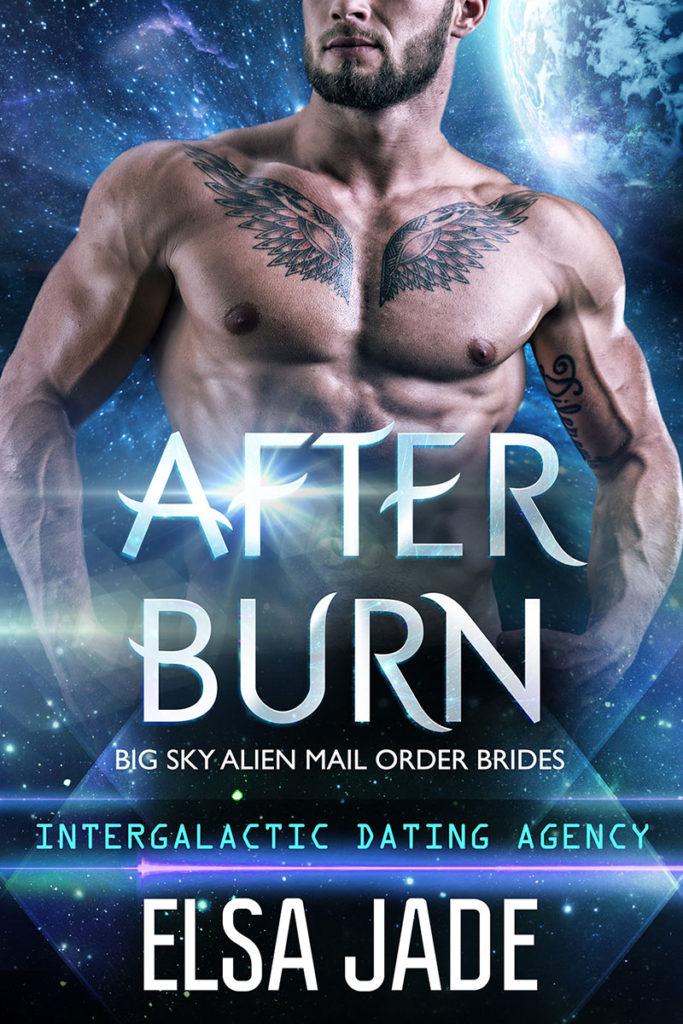 After Burn science fiction romance Elsa Jade