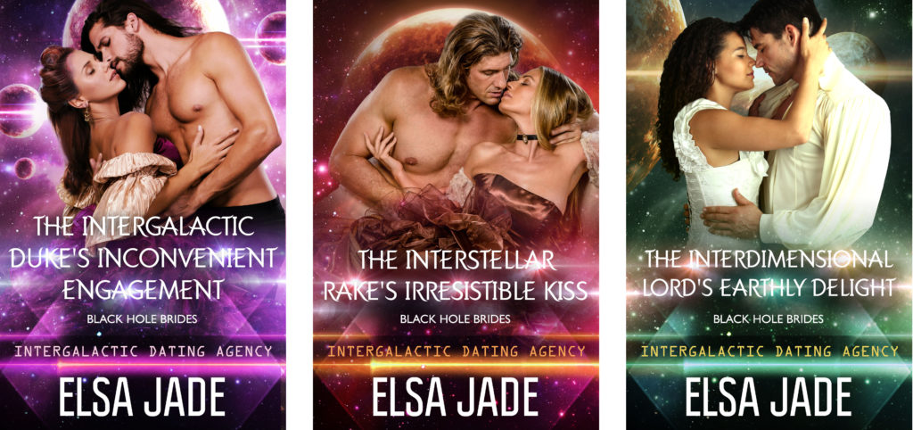 Black Hole Brides science fiction romance by Elsa Jade