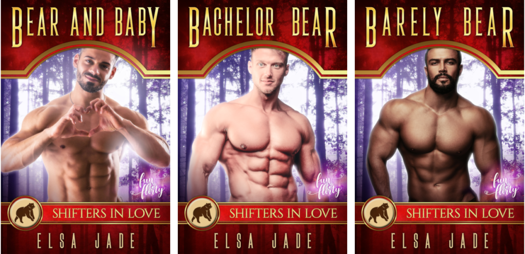 Montero Bears 1-3 bear shifter paranormal romance by Elsa Jade