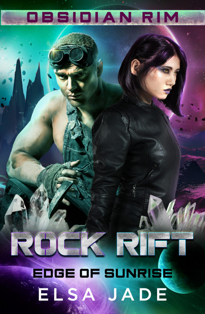 Rock Rift science fiction romance by Elsa Jade