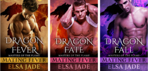 http://www.elsajade.com/series/masters-of-the-flame/