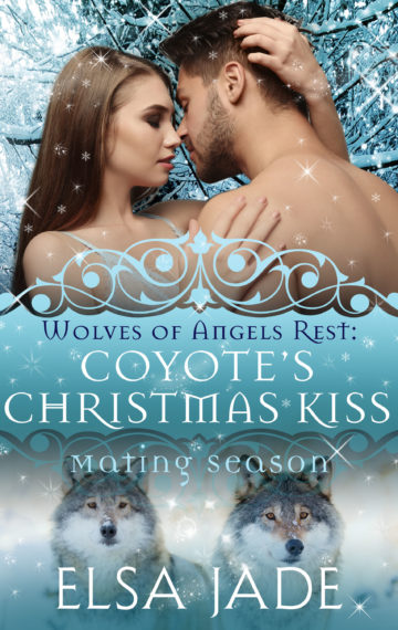 Coyote's Christmas Kiss