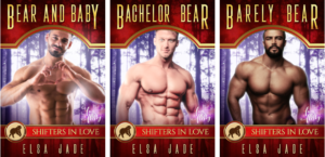 Montero Bears 1-3 bear shifter paranormal romance by Elsa Jade